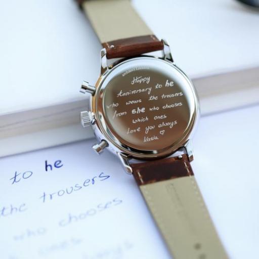 Handwriting Engraving - Men's Architect Motivator